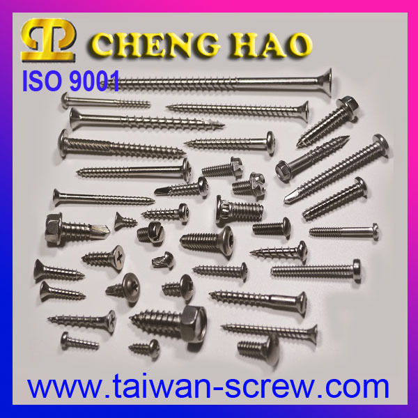 Stainless Steel Cross Key Flat Head Wood Screw