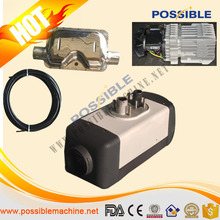 2015 hot sale diesel bus parking heater through low temperature test