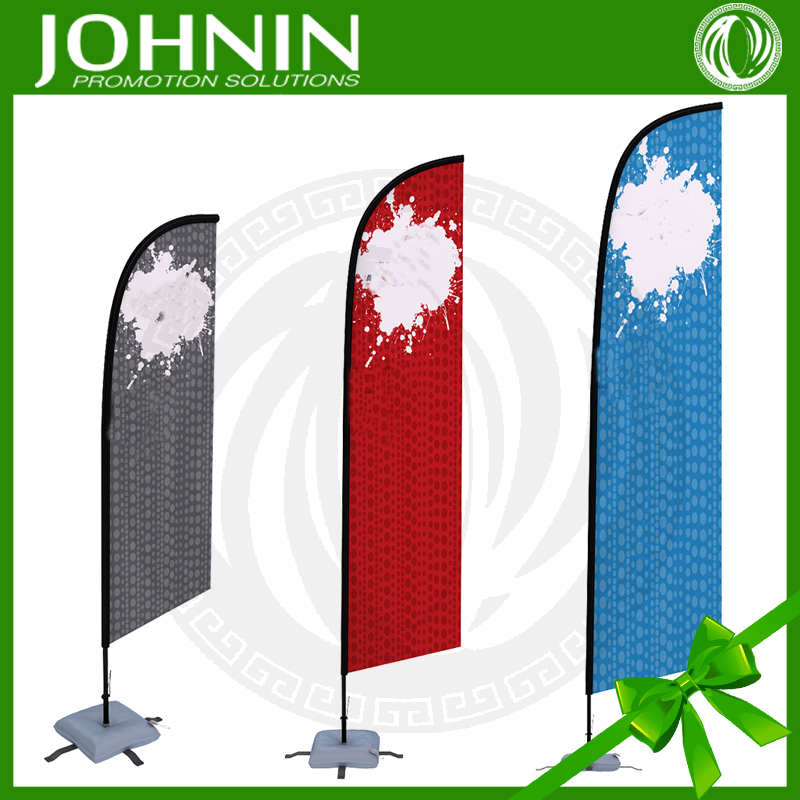 outdoor advertising company logo printed fabric promotional banner
