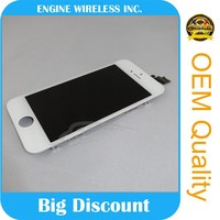 100% Original New lcd display touch screen digitizer for iphone 5