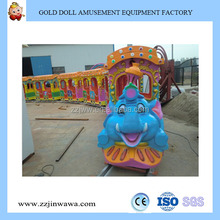 Kid Rides Fruit Electric Track Train Amusement Park Train Rides