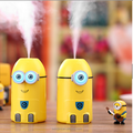 Cartoon 250ml Customized Portable USB battery operated Aroma Diffuser humidifier for gift