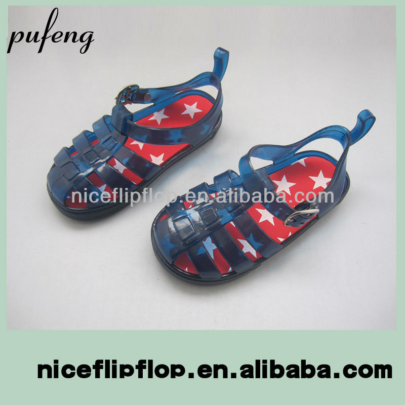 2014 new style cheap jelly sandals