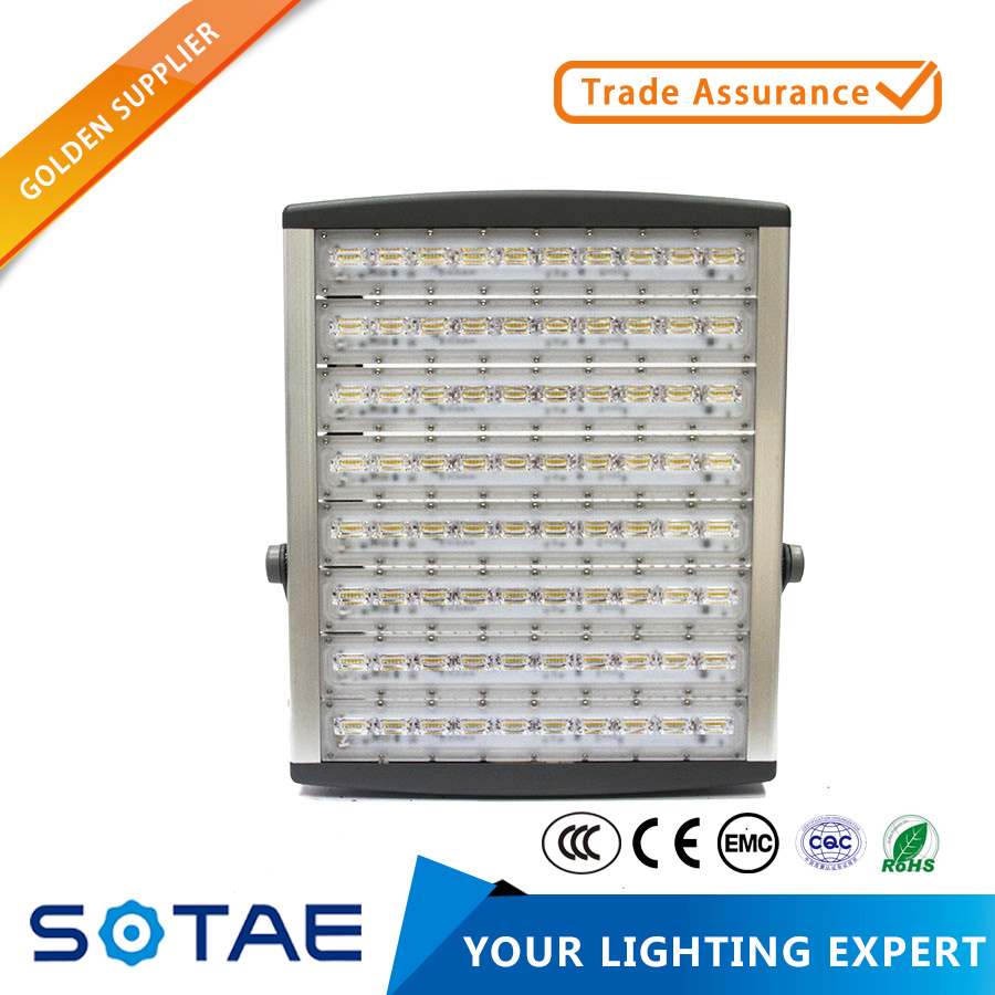 SOTAE football stadium used 10KV surge protector ip65 floodlight 400w led flood light