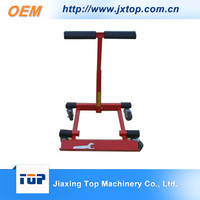 Professional Heavy Duty Hand Trolley Red And Black Folding Foldable 4 Wheel Hand Cart Moving Dolly