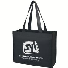 High quality insulated nonwoven metallic tote bag