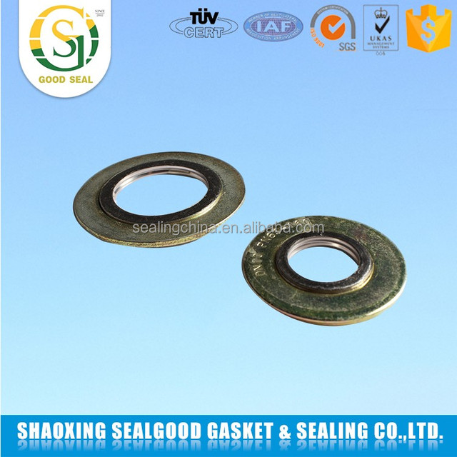Manufacturer China radiator spiral wound gasket with outer ring