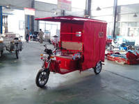 Three wheel motorcycle electric tricycle for passenger