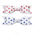 Kids Hair Accessories Small Cute 4th Of July Bows BH2038