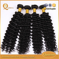Hot Selling Natural Black Wholesale 7 A Brazilian Virgin Hair Deep Wave