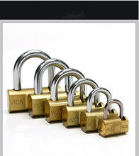 New product small combination padlock heavy duty MASTER TYPE BRASS COMBINATION PADLOCK