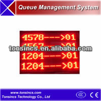 Tonsincs Dot Matrix waiting room main LED display for Queuing System