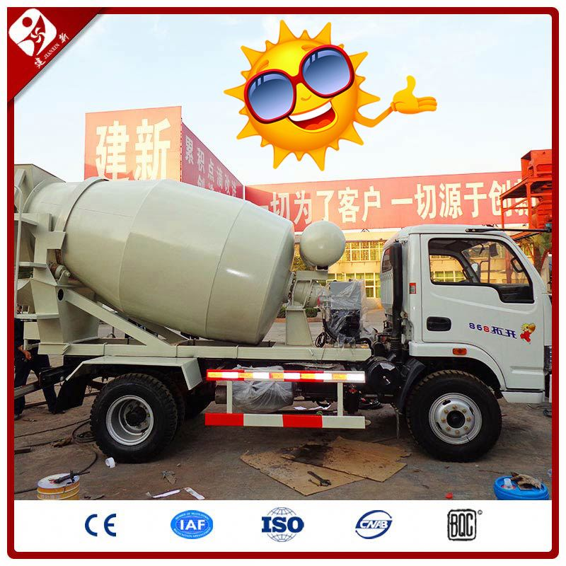 3M3 2.5 Cbm South Africa Drum Self Load Second Hand Low Price Mixed Used Concrete Mixer Truck On Sale