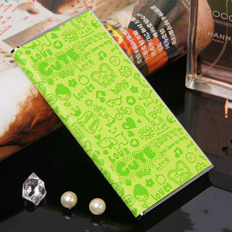 Personality Slim Rectangle 8000mah Leather Powerbank made by Guangdong factory