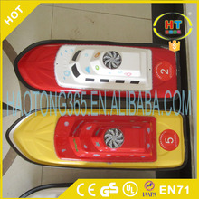 OEM service 2.4G remote controller colorful rc boat for kids