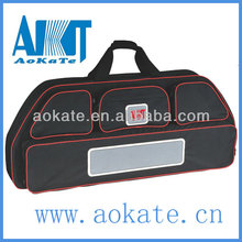 Solid archery bow case for putting bow and arrow