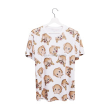 Online Shopping 3D Print Emoji Monkey White New Design Wholesale Girls Tshirt
