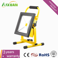 Multifunctional COB battery powered led flood lights