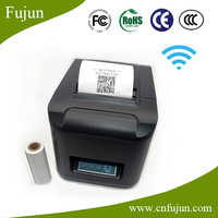 For Samsung & Iphone Cellphone 300mm/s Wireless Wifi Thermal Pos Printer With Receipt Printer Paper Roll