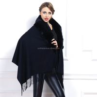 Luxury Fashion Shawl Fox Fur Scarf