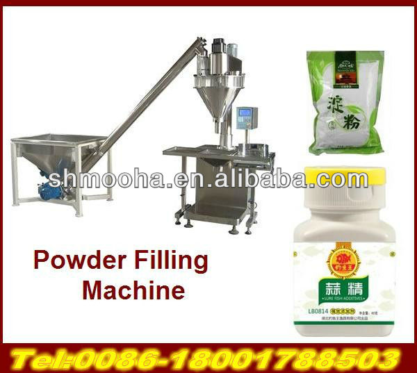 PLC Control Large vertical powder packaging line(10~1000g each bag)