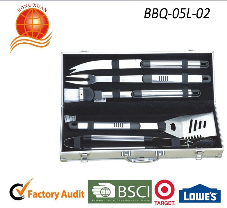 wholesale BBQ Grill tools with long handle bbq spatuler