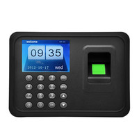 Free software fingerprint attendance machine A6