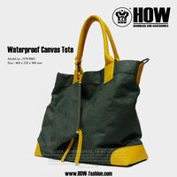 New Fashion HOW Canvas two tone Tote Bag