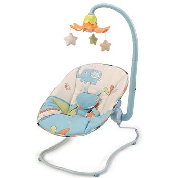 Easy Baby Bouncer With Flower Flash Light& Plush Toys