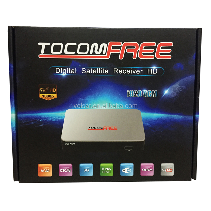 Digital Type azamerica s1009 <strong>satellite</strong> internet receiver Tocomfree mini S929 DVB-S2 Twin Tuner IKS + SKS+IPTV
