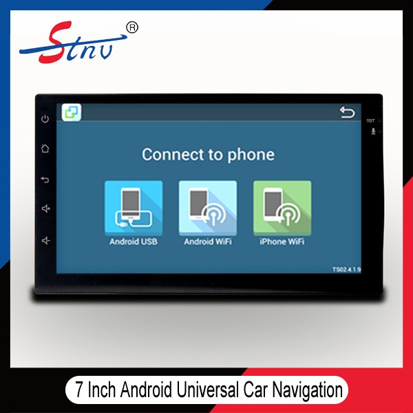 2 Din 7'' Android Navigation With GPS/Radio/OBD/SWC/IPOD/Bluetooth
