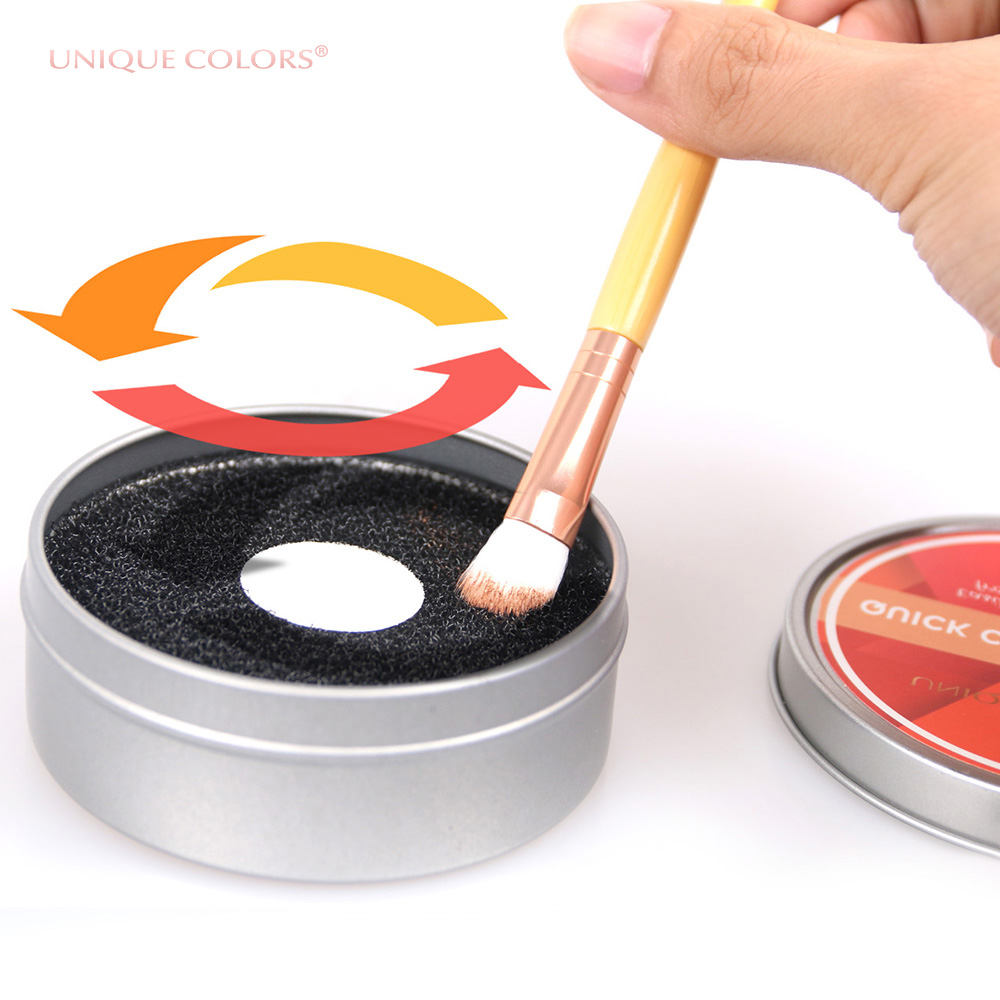 Factory Direct Sale Makeup Brush Cleaner Cosmetic Eyeshadow Sponge <strong>Remover</strong> <strong>Color</strong> From Brush Cleaner
