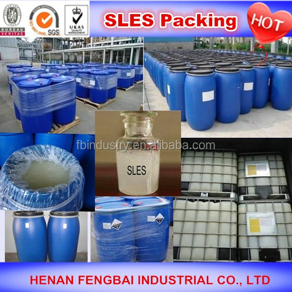 China Supplier sles sodium lauryl ether sulphate