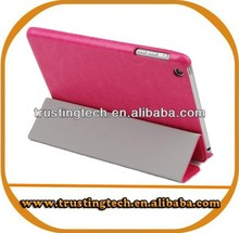 For Apple ipad mini stand folding smart cover pu case