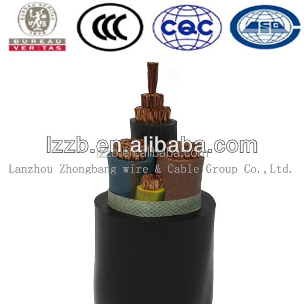 Flexible Copper Conductor EPR Rubber Insulated Neoprene H07RN-F Cable