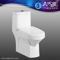 A3102 Bathroom Ceramic Siphonic One Piece Prison Toilet