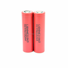 Original High Drain Dicharge 20a Lg He2 18650 Rechargeable Battery 2500mah Vs Lg He4 3.7v Lgdbhe21865 Battery For Box Mod