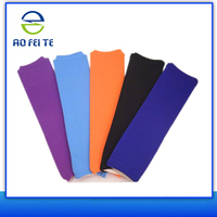cheap colorful long Customized Padded elbow brace support, protective arm sleeve,compression arm sleeve