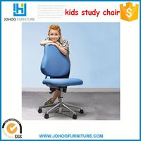 Mini kids study furniture paper square chair /table for children black