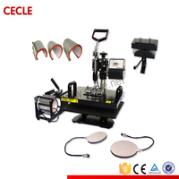 Cecle 2015 trade assurance low price t-shirt heat press machine lcd