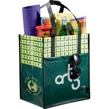 Customized LOGO print recycled promotional shopping non woven bag