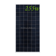 JA high quality 255watt polycrystal solar panel