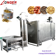 Automatic Pakistan Small Pine Nut Cashew Toaster Groundnut Sunflower Seeds Peanut Roaster Machinery Cocoa Bean Roasting Machine