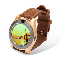 Round screen bluetooth phone watch with sim card, MP3 MP4 GSM850/900/1800/1900 watch phone ce rohs with IOS and android