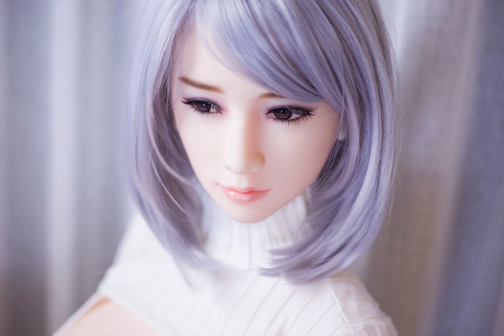 High quality sex doll for man masterbation with short hair in white