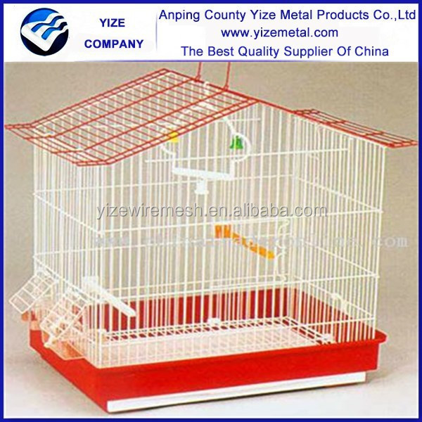 Folding Metal Bird Cage 30X23X39cm/Small Bird Cage( inside cup) 30X23X39cm