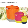 (565) Colorful New Indoor Outdoor Foldable Garden Pot Flower Bag Flower Planter