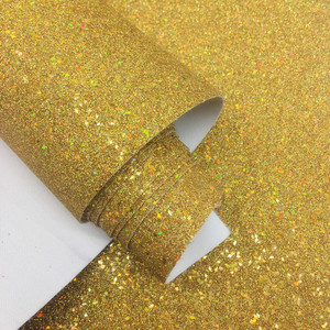 (BY3051) Laser Shinny Fine Glitter Fabric For Making Shoes Upper Material