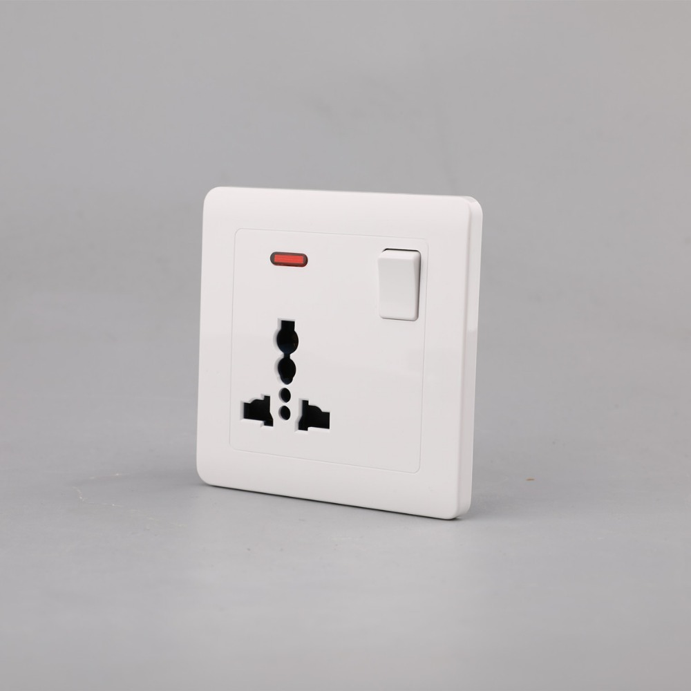 safety socket 3 pin wall socket electrical switch socket with best price