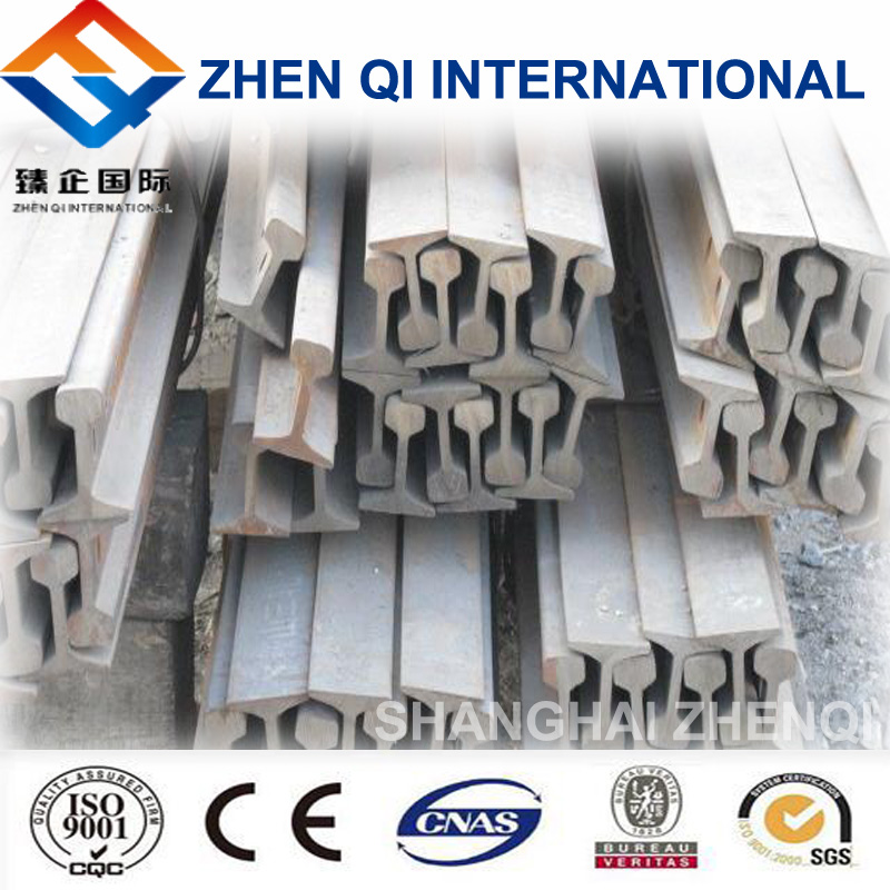 High quality steel rail track 22kg/m being sale at low price